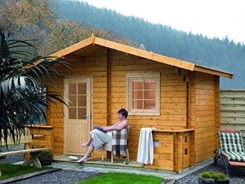 Finnhaus sanna terrasse aussensauna